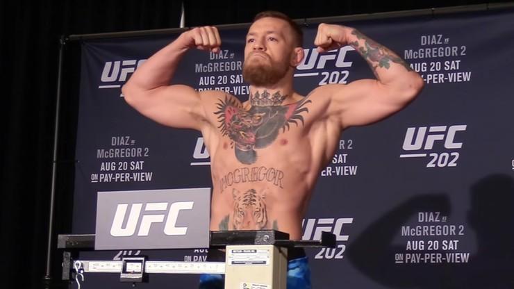 McGregor przeprasza za incydent w Gdańsku