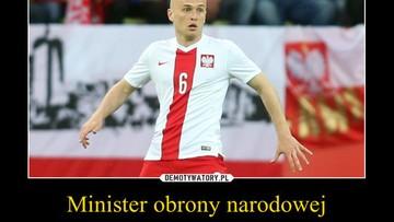 Pazdan - nowy minister obrony narodowej. Najlepsze memy po meczu Niemcy - Polska [GALERIA]