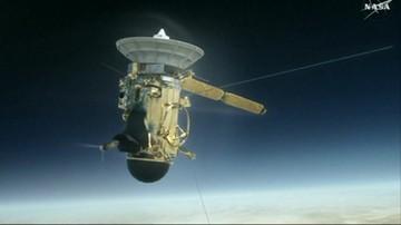 Sonda Cassini kończy swoją misję