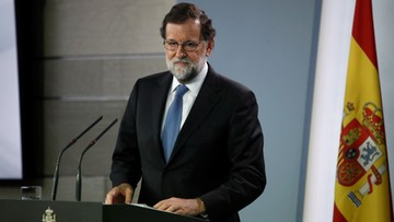 27-10-2017 20:39 Premier Hiszpanii rozwiązał parlament Katalonii. Zapowiedział odwołanie katalońskiego rządu