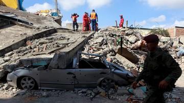 19-04-2016 05:21 Już 413 ofiar trzęsienia ziemi w Ekwadorze