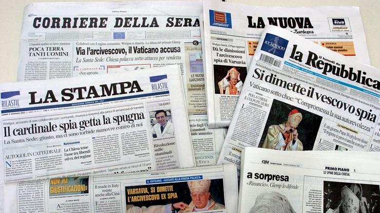 Włoskie media: Nie do pomyślenia jest to, byśmy nie awansowali