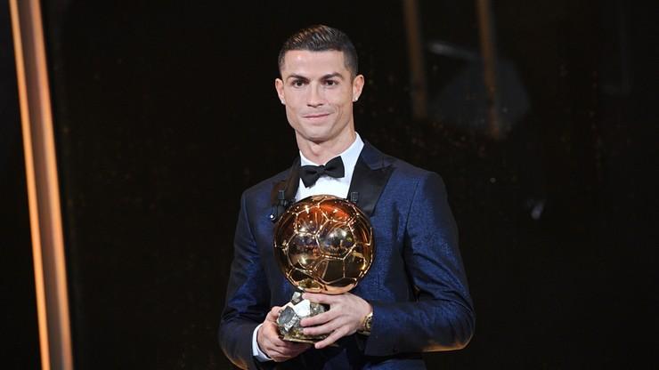 """Złota Piłka dla Cristiano Ronaldo. Lewandowski w pierwszej """"dziesiątce"""""""