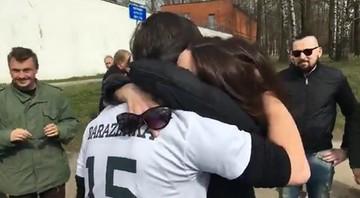 Operator Biełsatu wyszedł na wolność. Przez 15 dni aresztu prowadził głodówkę