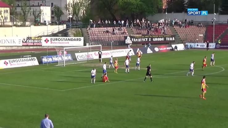2017-05-15 Chojniczanka Chojnice - MKS Kluczbork 1:1. Skrót meczu
