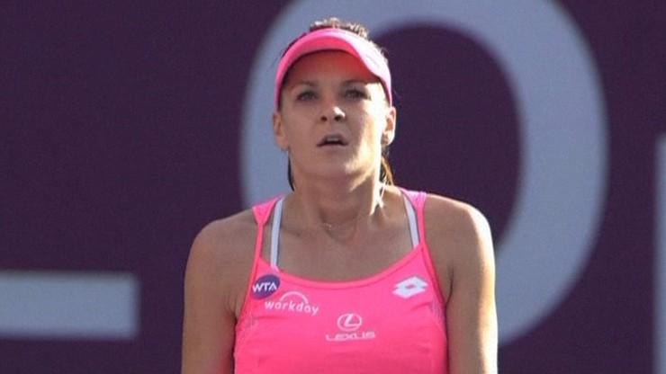 Vinci odprawiona. Radwańska zagra o finał turnieju w Katarze