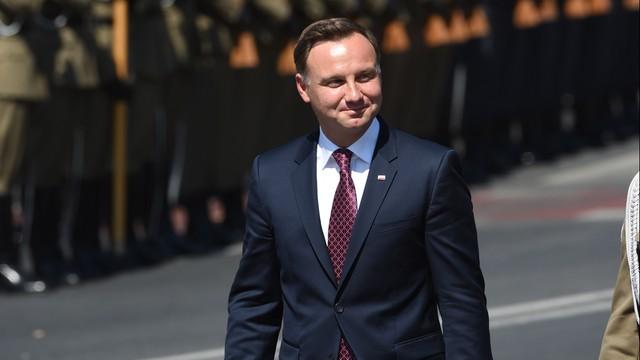 Prezydent Andrzej Duda przyjął meldunek szefa Sztabu Generalnego WP