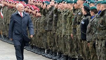 Szef MON: modernizacja armii będzie wymagać ponad 550 mld zł