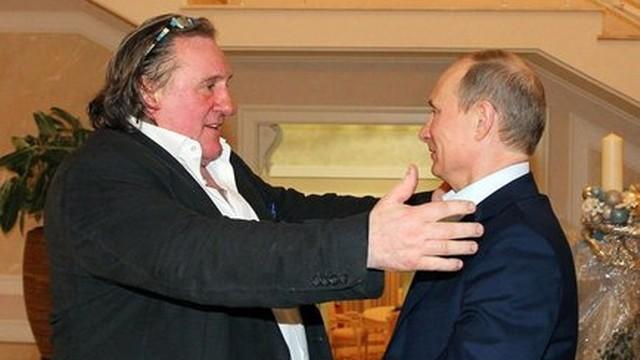 Depardieu zagrożeniem dla Ukrainy. Filmy z francuzem zakazane