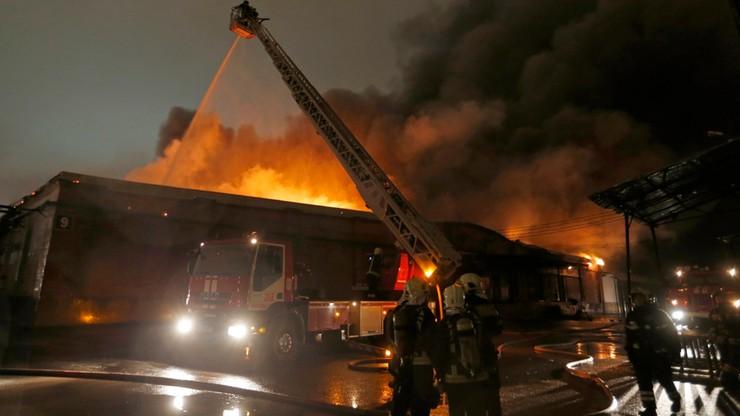 Ośmiu strażaków zginęło w pożarze na wschodzie Moskwy