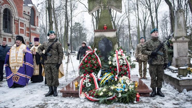 Polacy i Ukraińcy uczcili Dzień Jedności Ukrainy