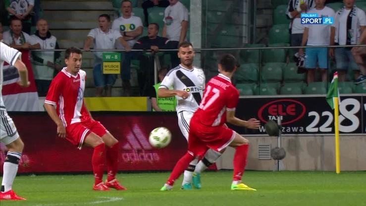 2016-07-19 Perfekcyjny strzał Nikolica po kontrowersyjnym rzucie karnym. 1:0 dla Legii!