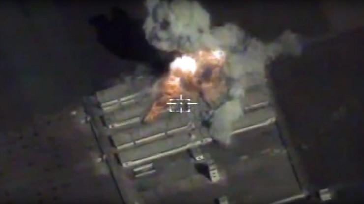 Zmasowane rosyjskie naloty na cele w Syrii