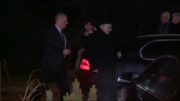 Jarosław Kaczyński wyjeżdża z Niedzicy
