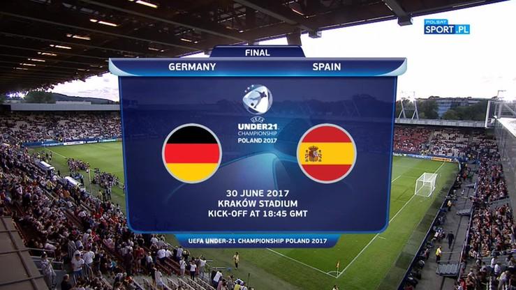 Euro U-21: Niemcy - Hiszpania 1:0. Skrót meczu