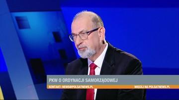 Prof. Jacek Raciborski o projekcie PiS dot. zmian w ordynacji wyborczej
