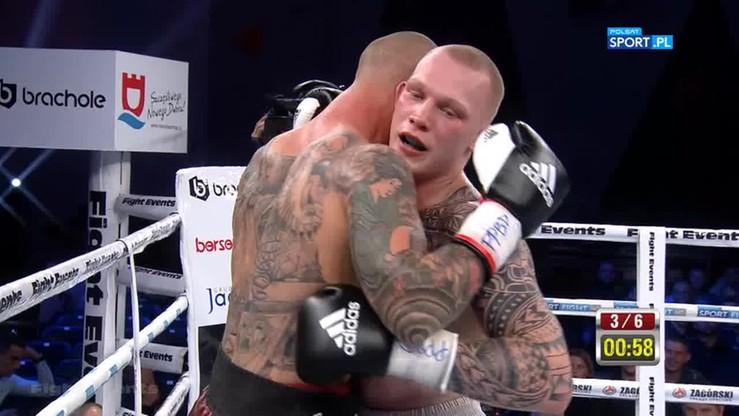 Daniel Bociański - Przemysław Binienda. Skrót walki