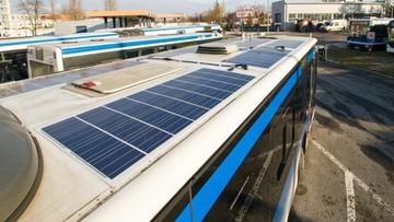 11-12-2015 14:17 Kraków: rozpoczęły się testy autobusów z technologią fotowoltaiczną
