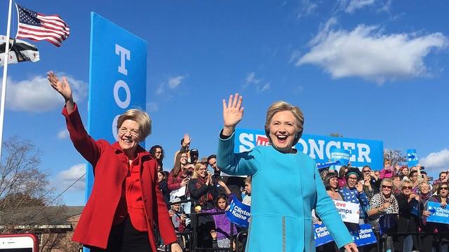 Clinton wspiera kampanię Demokratów do Kongresu