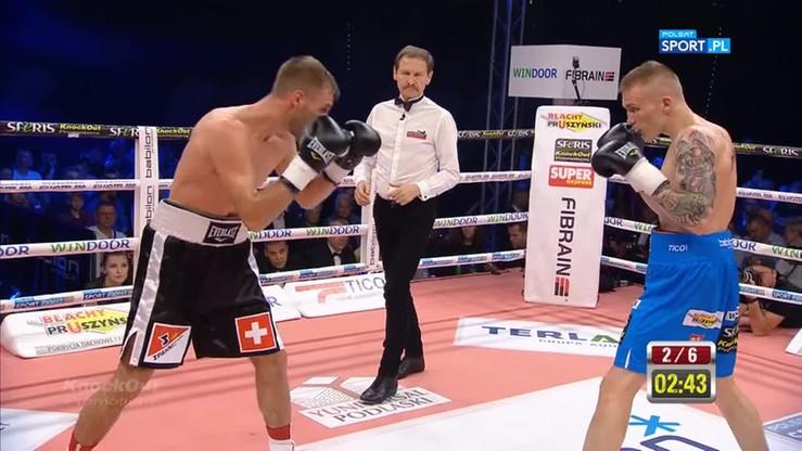 Przemysław Runowski - Alain Chervet. Skrót walki