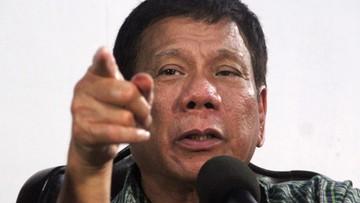 05-06-2016 17:25 Zabijajcie handlarzy narkotyków - wzywa filipiński prezydent-elekt