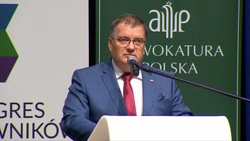 List Andrzeja Dudy oburzył sędziów. Przerwali wystąpienie prezydenckiego ministra