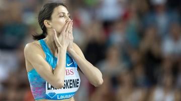 2017-12-23 Lasickiene skoczyła wzwyż dwa metry w Mińsku
