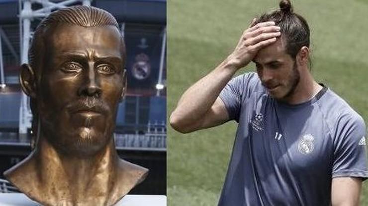 """Najpierw była """"niepodobizna"""" Ronaldo. Teraz swej rzeźby doczekał się Gareth Bale"""