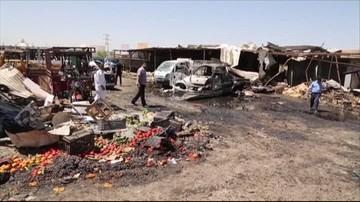 12-07-2016 11:56 Eksplozja samochodu pułapki w Bagdadzie. Co najmniej 11 zabitych