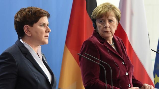 Niemieckie media: Osiągnięcia polsko - niemieckiej współpracy zagrożone