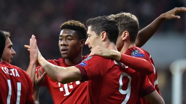 Lewandowski znów strzela w LM. Zemsta Bayernu na Arsenalu
