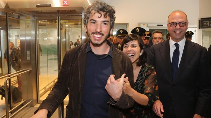 Przetrzymywany w Turcji włoski dziennikarz powrócił do kraju