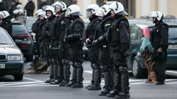 2015-11-16 Polska - Czechy: Wzmożone działania policji w związku z meczem