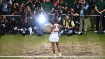 2017-07-15 Wimbledon: Muguruza nowym nazwiskiem na liście triumfatorek