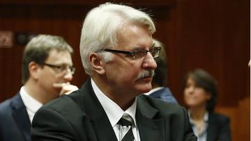 15-12-2015 10:02 Waszczykowski w niemieckiej prasie: TK próbuje utrzymać błąd popełniony przez poprzedni parlament