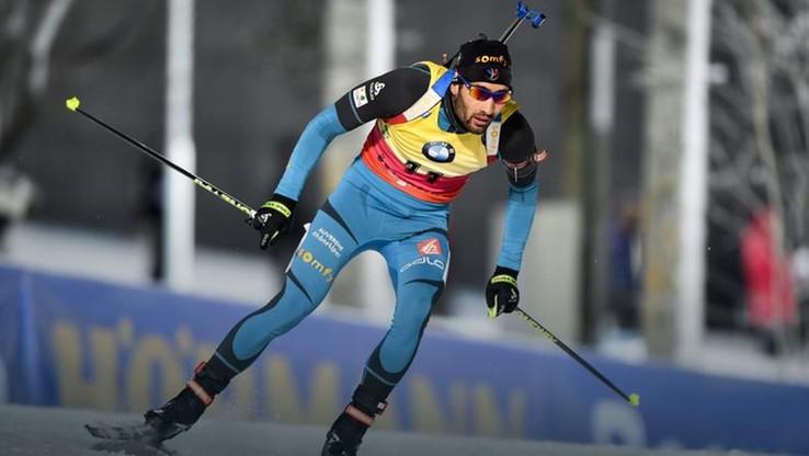PŚ w biathlonie: 55. triumf Fourcade'a