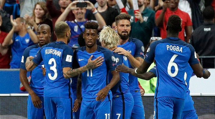 Fogiel z Paryża: Les Bleus na piątkę!