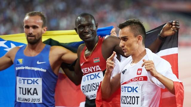 Lekkoatletyczne MŚ – Kszczot srebrnym medalistą na 800 m