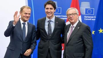 30-10-2016 12:27 Dziś ma zostać podpisana umowa CETA. Trudeau spóźnił się 1,5 godziny