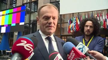 Tusk o połączeniu gazowym Polski z Litwą