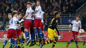 2015-11-20 Borussia poległa w Hamburgu. Honorowy gol Aubameyanga