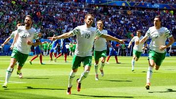 Francja - Irlandia: Brady rekordzistą mistrzostw Europy