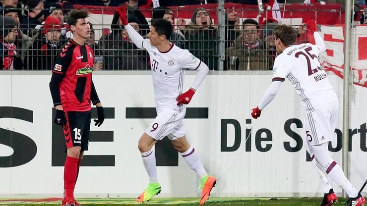 Lewandowski bohaterem Bayernu! Gole Polaka na wagę trzech punktów