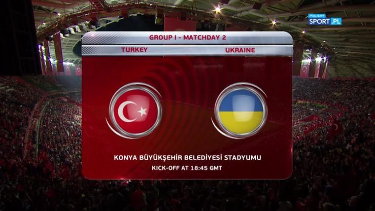 2016-10-06 Turcja - Ukraina 2:2. Skrót meczu