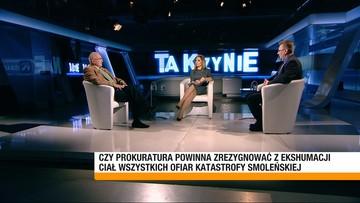 """""""Pan żeruje na ekshumacji"""" - zarzucił Deresz Walentynowiczowi w programie """"Tak czy Nie"""""""