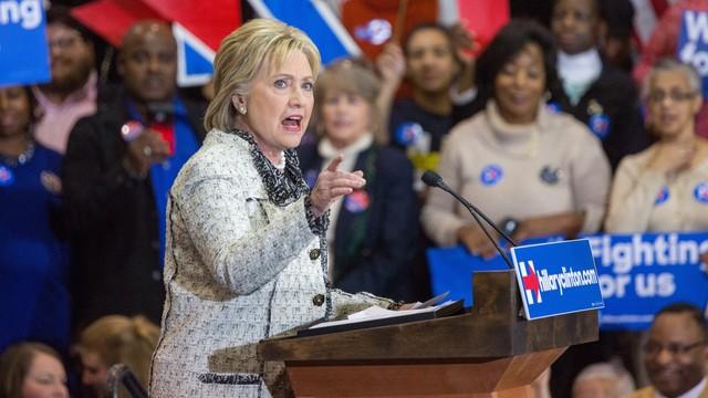 Hilary Clinton zwycięża w prawyborach w Karolinie Południowej