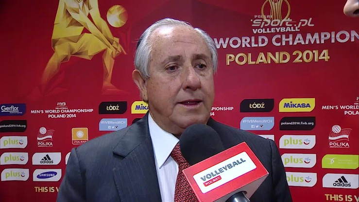 Prezydent FIVB: Polska może być dumna z organizacji MŚ