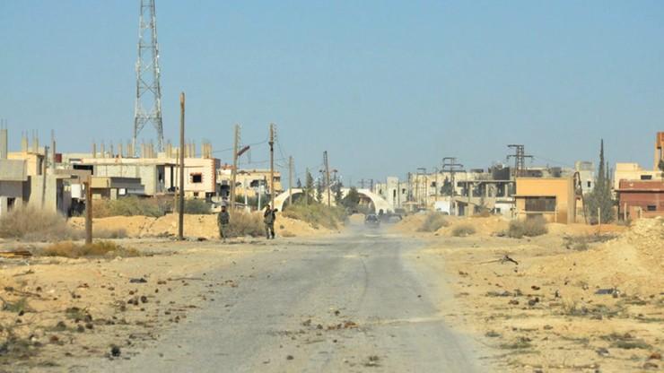 Syria: rebelianci zestrzelili samolot wojskowy