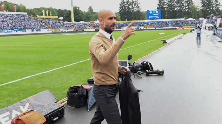 Guardiola wyszedł z konferencji! Nie spodobało mu się pytanie