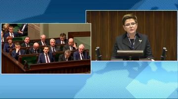 Beata Szydło o audycie stanu państwa